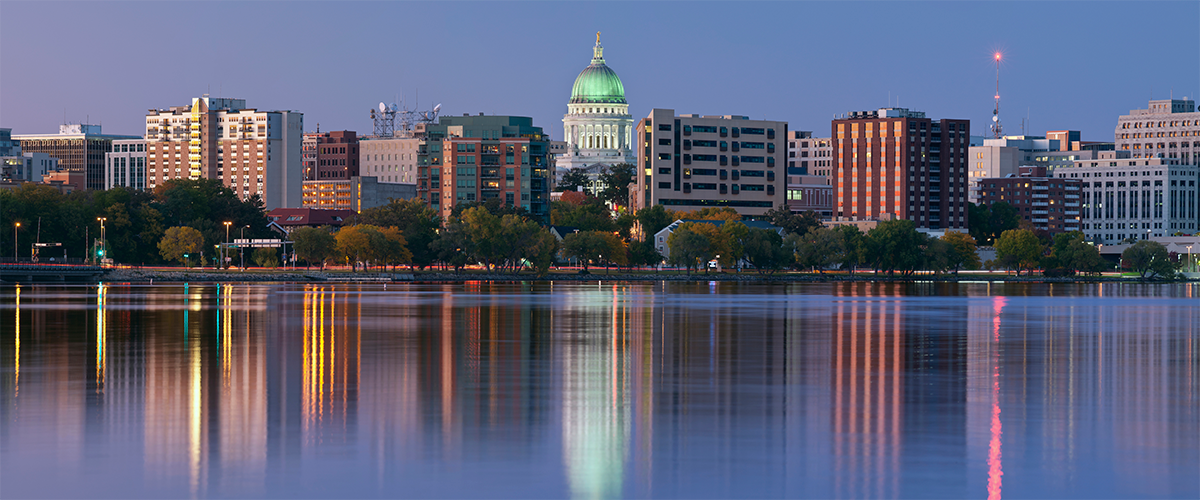 photo of Madison skyline